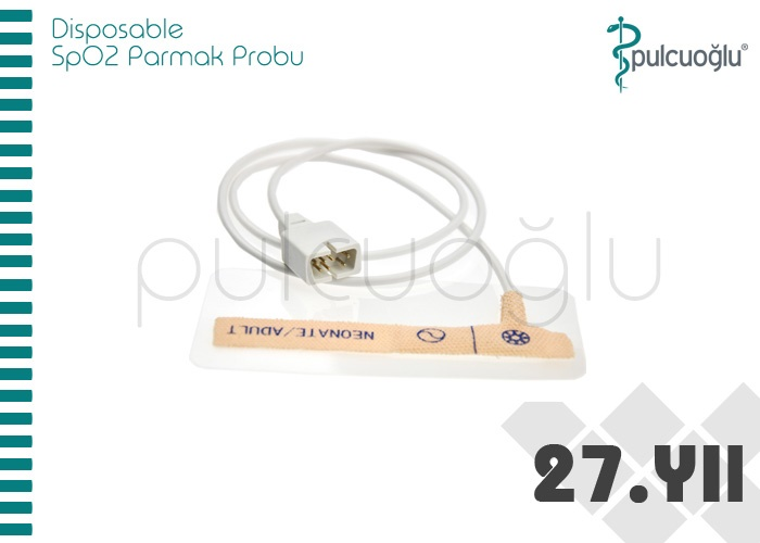 DISPOSABLE SpO2 PARMAK PROBU