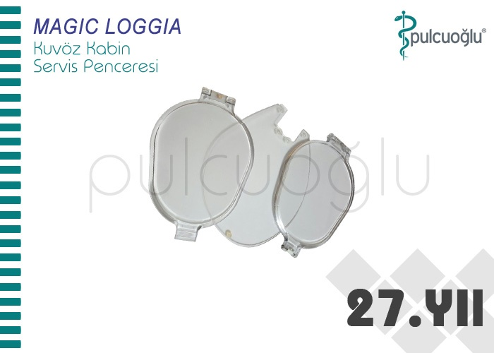 MAGIC LOGGIA KUVÖZ SERVİS PENCERESİ