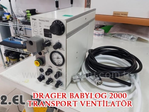 2.EL DRAGER TRANSPORT VENTİLATÖR
